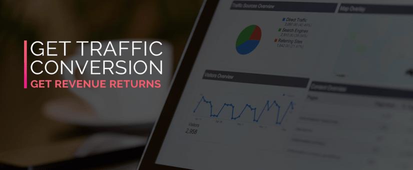 Get Traffic Conversion Get Revenue Returns
