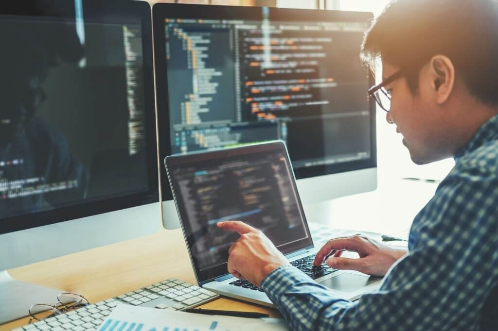 coding technologies working in software company